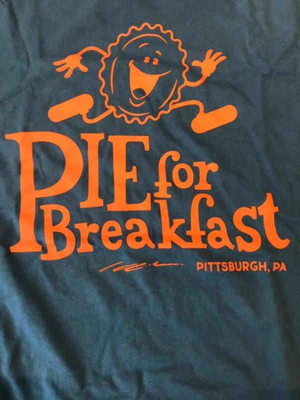 Pie for Breakfast Tshirt Front